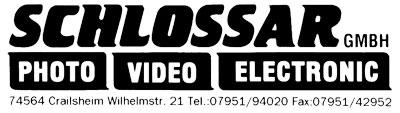 Schlossar GmbH Photo - Video - Digital